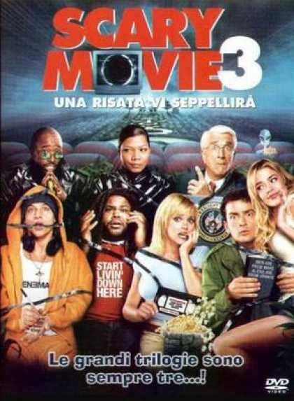 Italian DVDs - Scary Movie 3