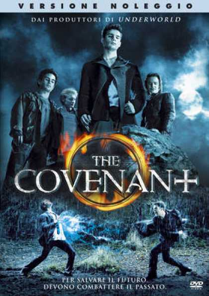 Italian DVDs - The Covenant