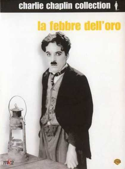 Italian DVDs - Charlie Chaplin The Gold Rush