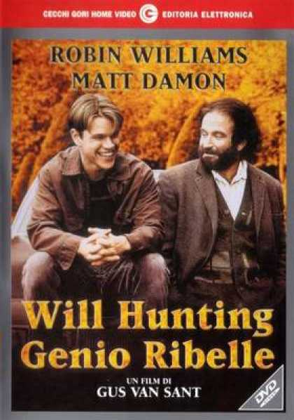 Italian DVDs - Good Will Hunting