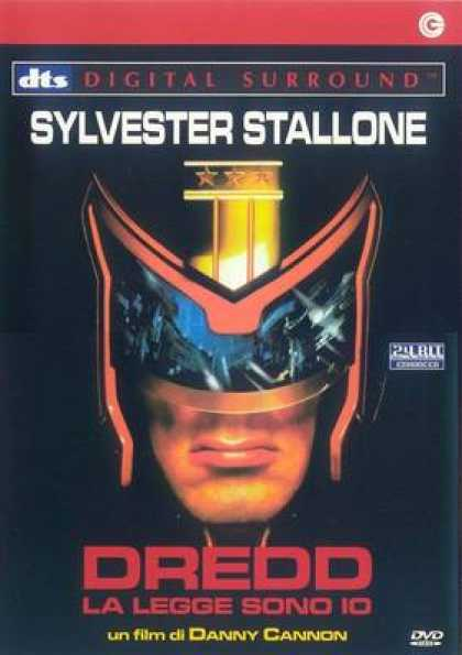 Italian DVDs - Judge Dredd