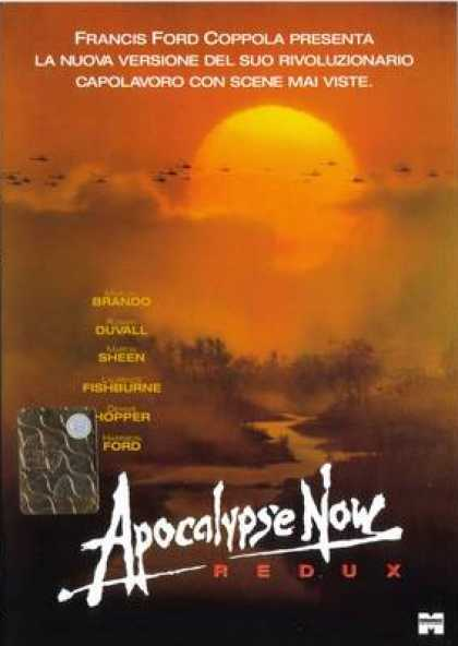 Italian DVDs - Apocalipse Now Redux