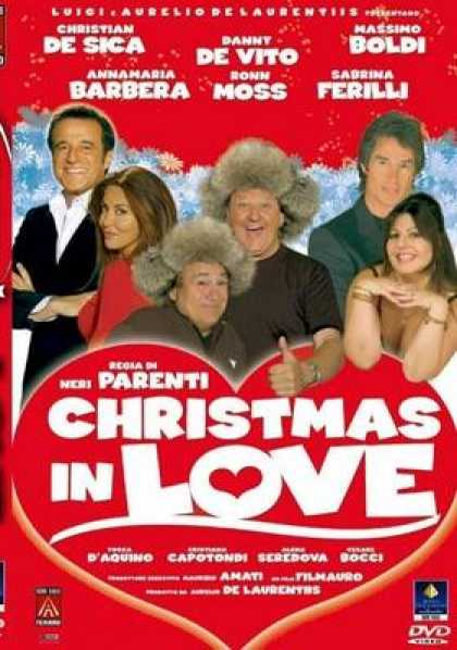 Italian DVDs - Christmas In Love