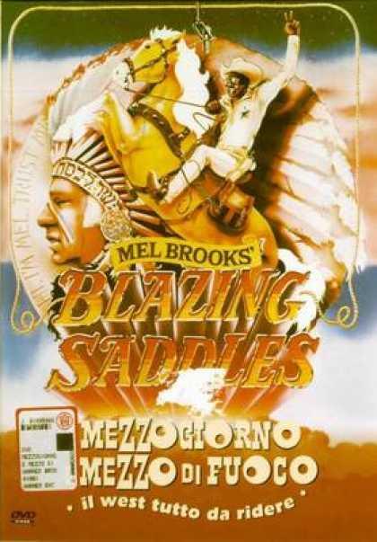 Italian DVDs - Blazing Saddles