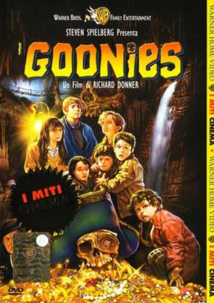 Italian DVDs - The Goonies