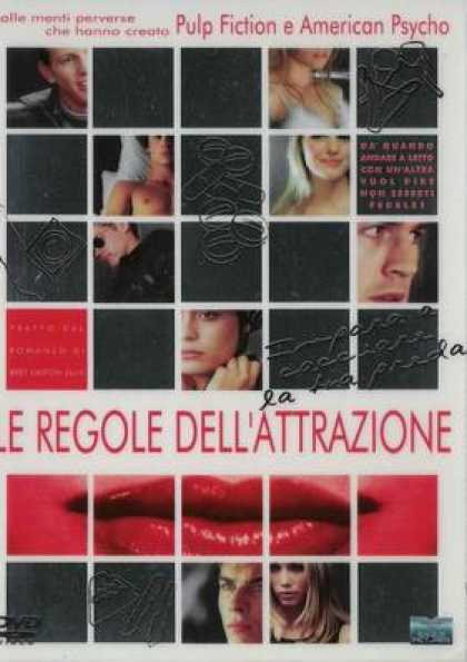 Italian DVDs - The Rules Of Attraction