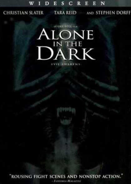 Italian DVDs - Alone In The Dark