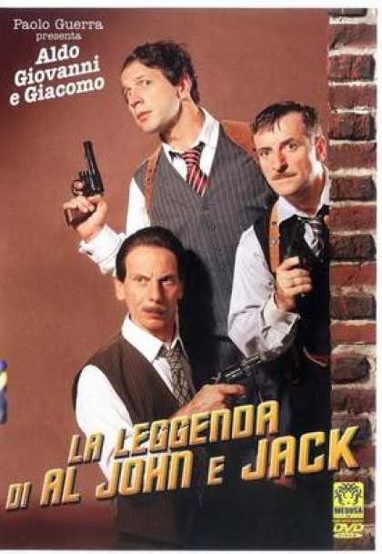 Italian DVDs - The Legend Of Al John And Jack