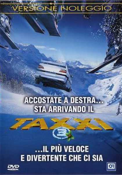 Italian DVDs - Taxi 3