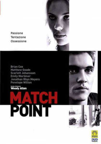 Italian DVDs - Match Point