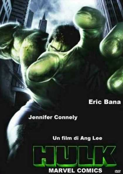 Italian DVDs - Hulk Widescreen