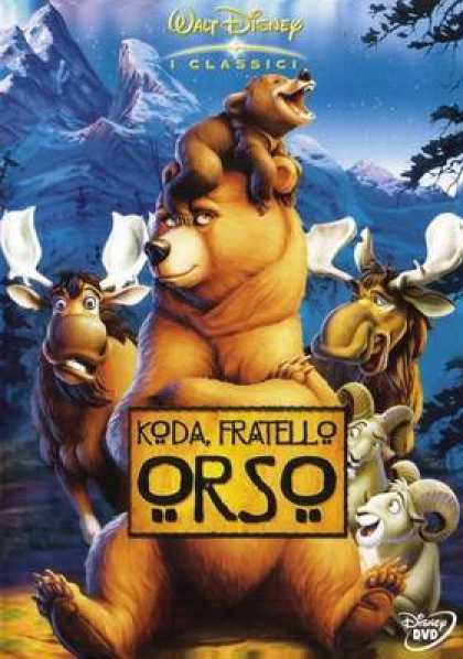 Italian DVDs - Brother Bear