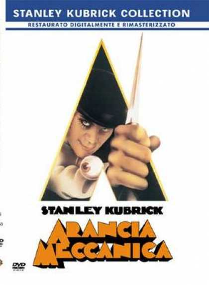 Italian DVDs - A Clockwork Orange