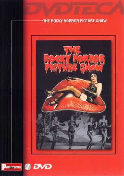 Italian DVDs - The Rocky Horror Picture Show