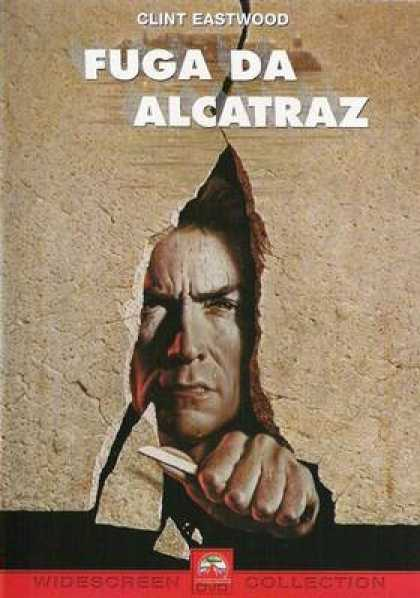Italian DVDs - Escape From Alcatraz