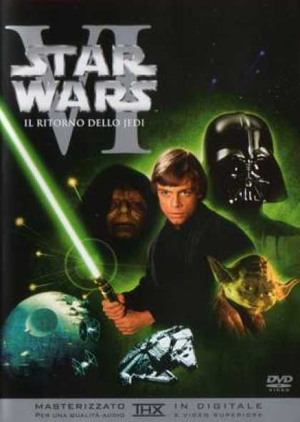 Italian DVDs - Star Wars Episode 6 Return Of The Jedi