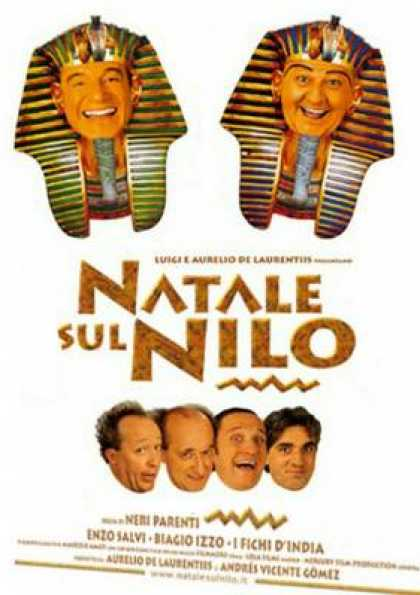 Italian DVDs - Christmas On Nile