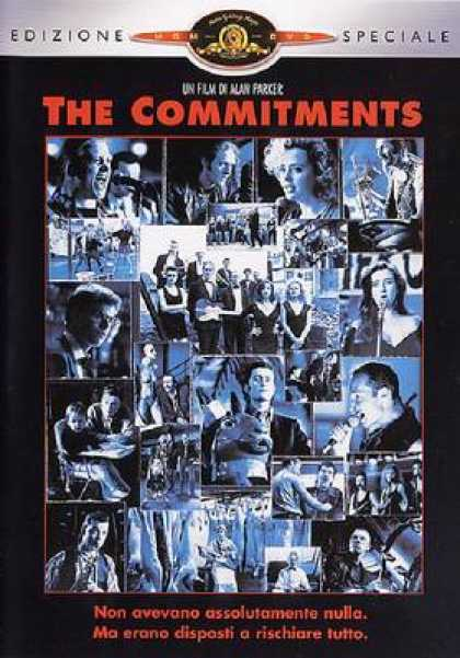 Italian DVDs - The Commitments