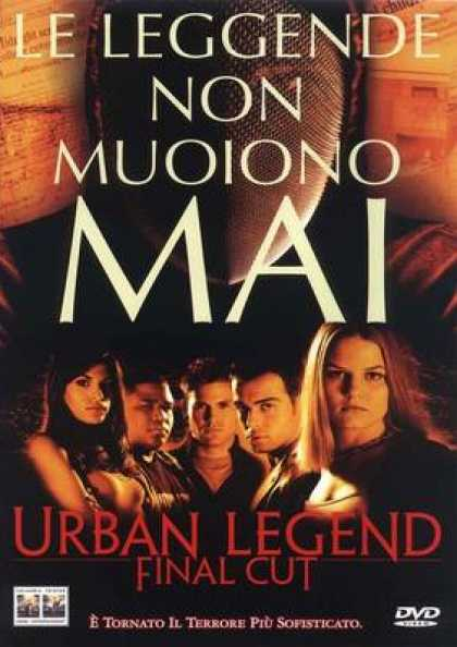Italian DVDs - Urban Legend Final Cut