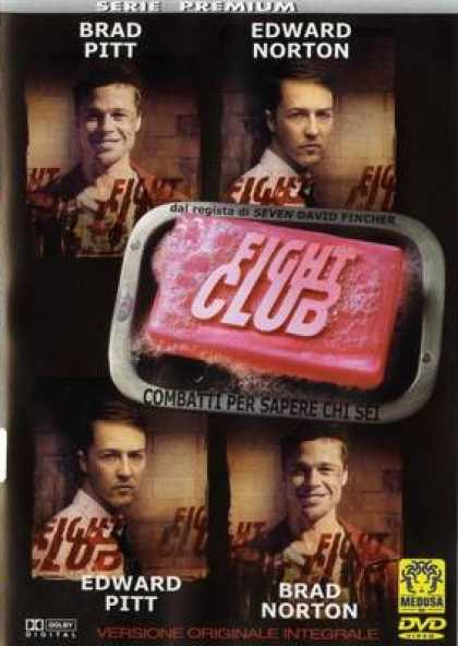 Italian DVDs - Fight Club Special