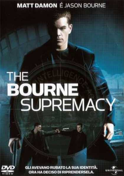 Italian DVDs - The Bourne Supremacy
