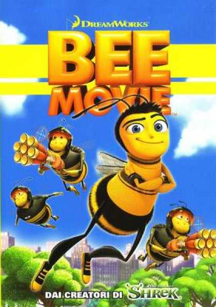Italian DVDs - Bee Movie