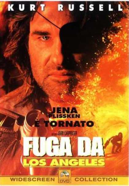 Italian DVDs - Escape From La Widescreen