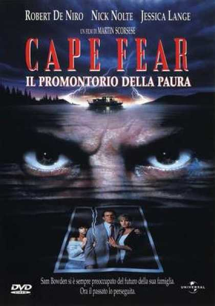 Italian DVDs - Cape Fear