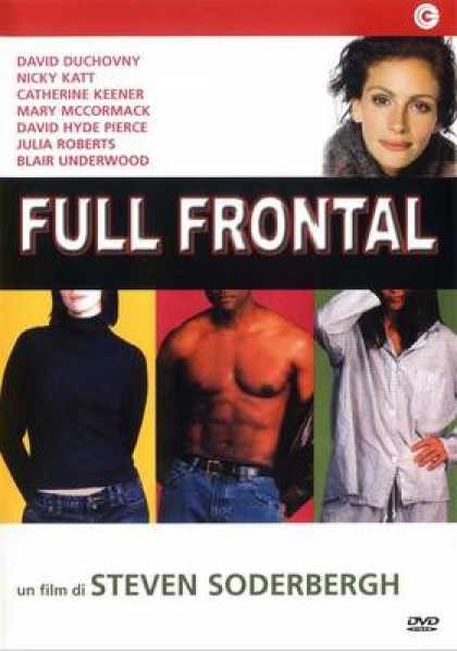 Italian DVDs - Full Frontal
