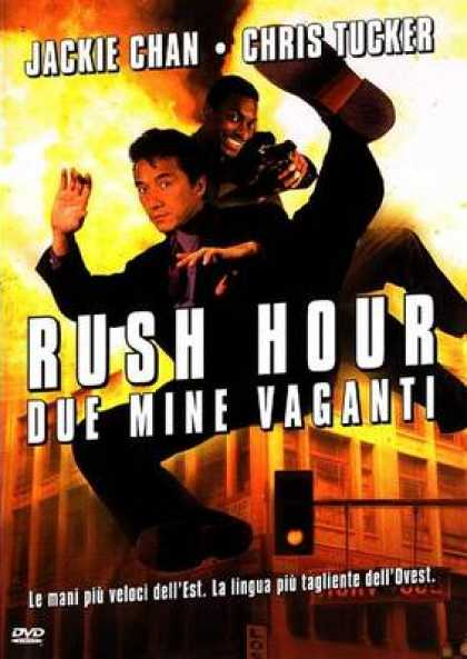 Italian DVDs - Rush Hour 1