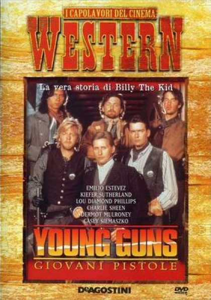 Italian DVDs - Young Guns