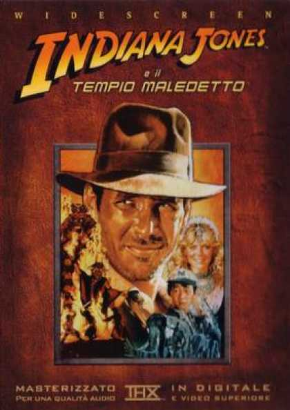 Italian DVDs - Indiana Jones And The Temple Of Doom