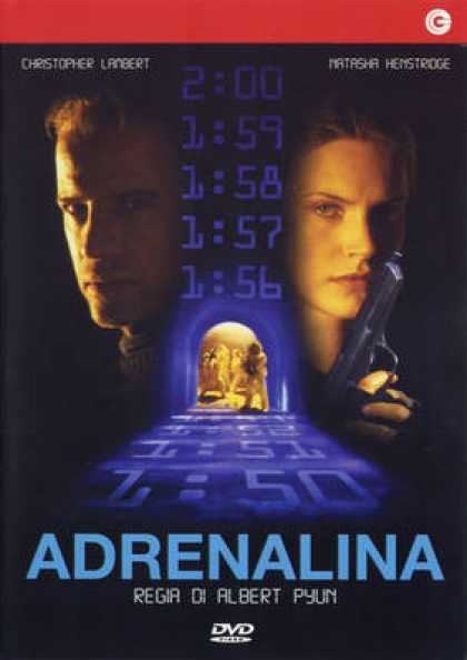 Italian DVDs - Adrenalin Fear The Rush