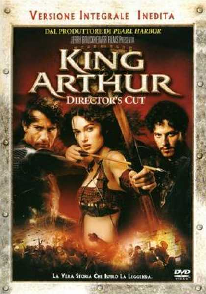 Italian DVDs - King Arthur Directors Cut