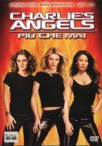 Italian DVDs - Charlies Angels Full Throttle