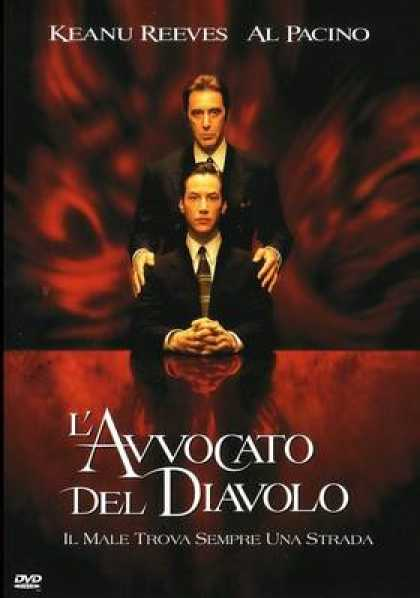 Italian DVDs - The Devil's Advocate