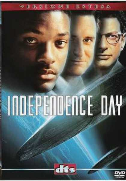 Italian DVDs - Independence Day