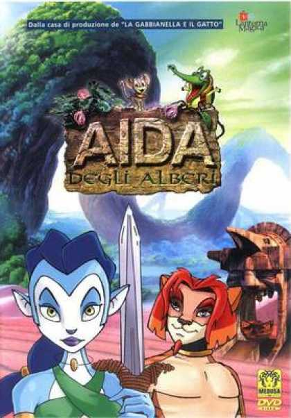 Italian DVDs - Aida Of The Tree