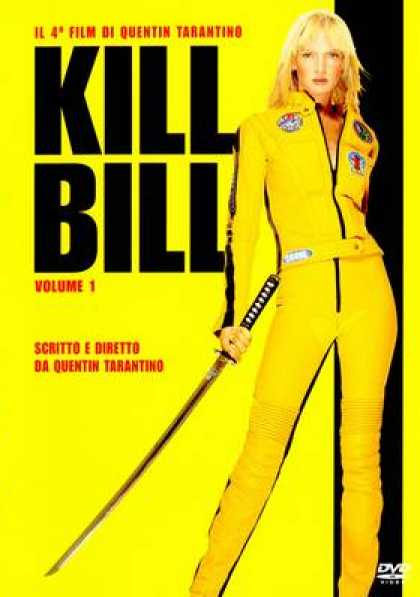 Italian DVDs - Kill Bill 1
