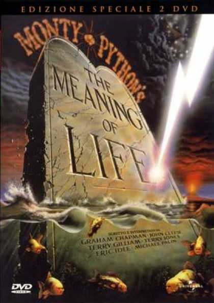 Italian DVDs - The Meaning Of Life