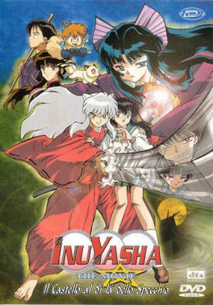 Italian DVDs - Inuyasha The Movie 2