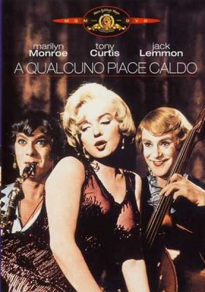 Italian DVDs - Some Like It Hot