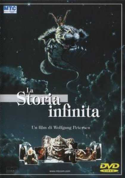 Italian DVDs - The Neverending Story