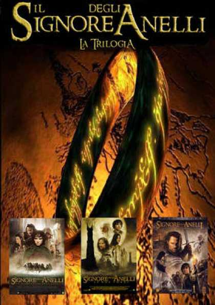 Italian DVDs - The Lord Of The Rings Trilogy
