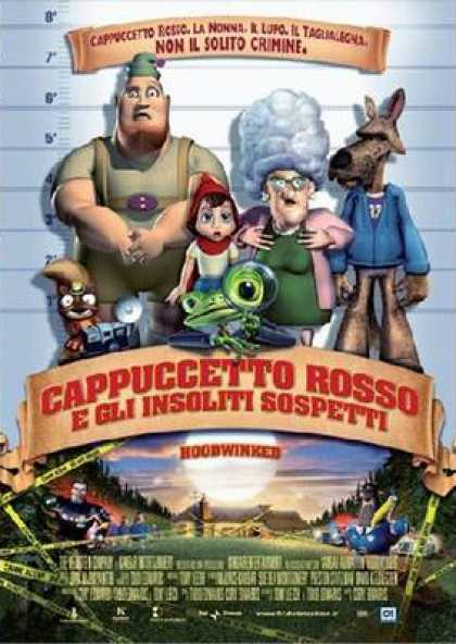Italian DVDs - Hoodwinked