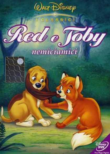 Italian DVDs - The Fox And The Hound