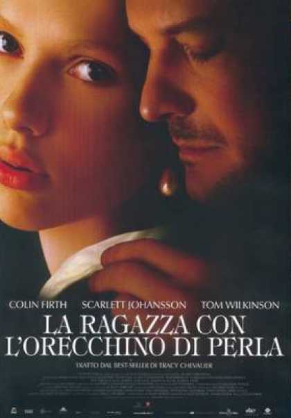 Italian DVDs - Girl With A Pearl Earring