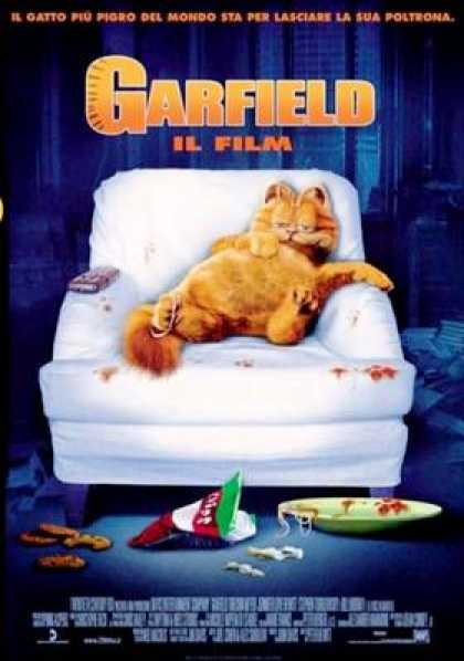 Italian DVDs - Grafield The Movie