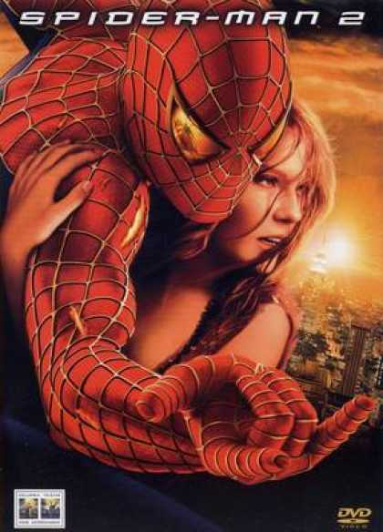 Italian DVDs - Spider Man 2