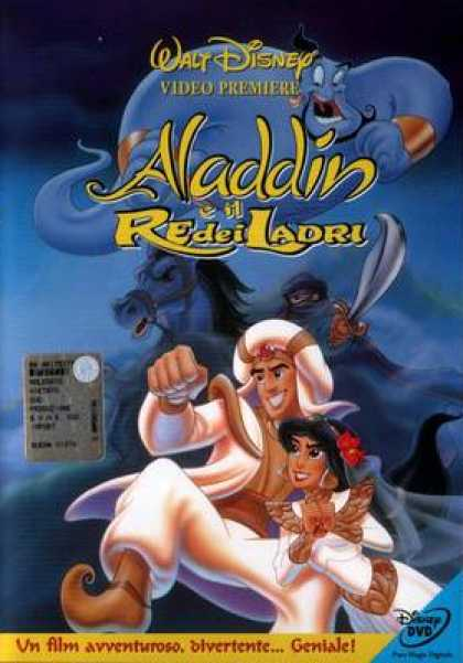 Italian DVDs - Aladdin And The King Of Thieves